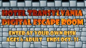 Hotel Transylvanial Digital Escape Room