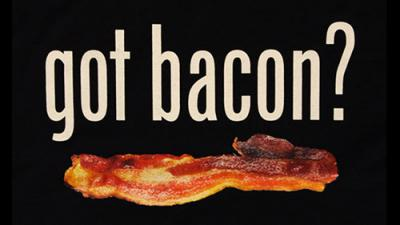 graphic of bacon
