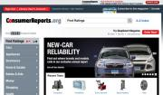 Screenshot of Consumer Reports Online, click to enlarge.