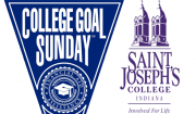 College Goal Sunday Logo and Saint Joseph's College Logo