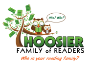 Hoosier Family of Readers logo