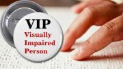 Visually Impaired Person Button