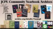 Arranged yearbook covers
