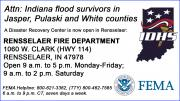 Text graphic with IDHS logo and FEMA logo.