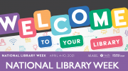 NLW 2021 slogan Welcome to your Library