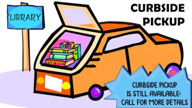 Image of car with trunk open and books in trunk - Curbside still available