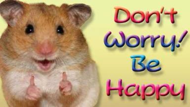 Hamster giving two thumbs up
