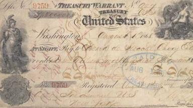 Image of the check used to buy Alaska, from Wikipedia.