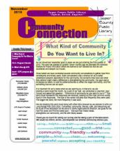 What kind of community do you want to live in?