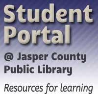 Student Portal at Jasper County Public Library