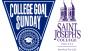 College Goal Sunday Logo and Saint Joseph's College Logo