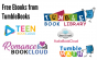 Graphics of TumbleBook platform logos