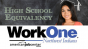 High School Equivalency - Work One Logo